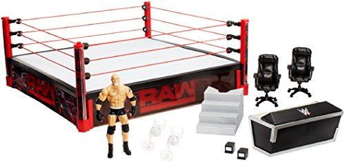 WWE Elite Collection Raw Main Event Ring Playset