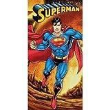 Superman Firely Planet Beach Towel