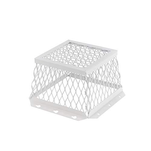 HY-C RVG-DVG Stainless Steel Dryer/Bathroom Ventguard, 7'x7'