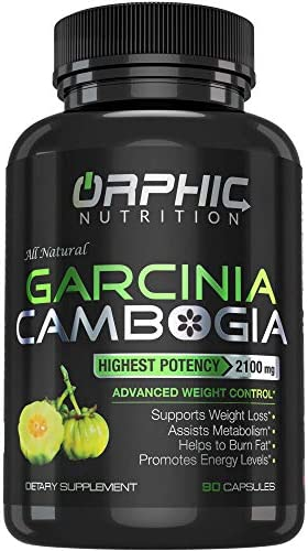 100% Pure Garcinia Cambogia Extract - Appetite Suppressant - Carb Blocker Capsules - 2100 MG - 90 Caps 3