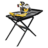 DEWALT D24000S Heavy-Duty 10-inch Wet Tile Saw with Stand
