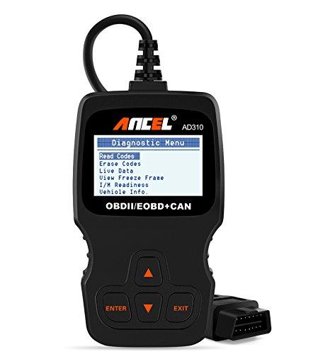 2. Ancel AD310 Classic Enhanced Universal OBDII Scanner