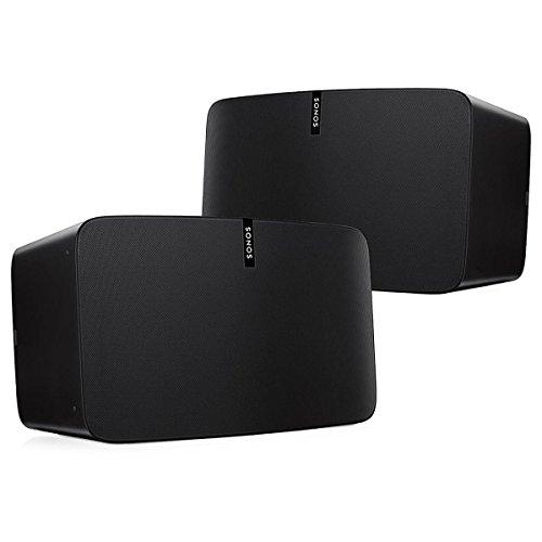 Sonos Play:5 Multi-Room Digital Music System Bundle (2 - Play:5 Speakers) - Black