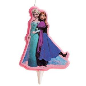 Candela per compleanno Frozen Disney