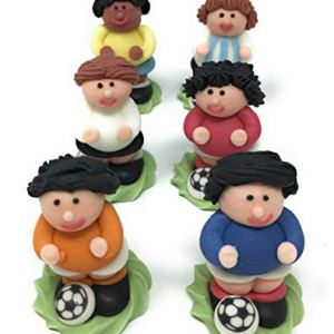3D Edible Footballer Cake Toppers for Football Cakes 41vLl1Q z L