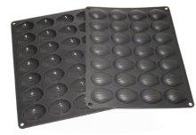 Moule silicone qualité pro 28 MINI-MADELEINES - BAUMALU/ HP FRANCE