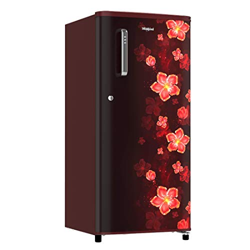 41vQc4HbMZL Whirlpool 190 L 3 Star Direct-Cool Single Door Refrigerator (WDE 205 CLS PLUS 3S WINE TWINKLE, Wine Twinkle)
