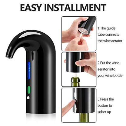 Electric-Wine-Aerator-Pourer-Stopper-Multi-Smart-Automatic-Wine-Dispenser-Premium-Aerating-Pourer-and-Decanter-Spout-wine-preserver