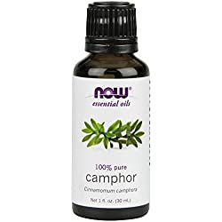 NOW Camphor Oil, 1-Ounce