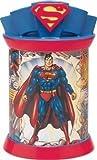 Superman Ceramic Metal Cookie Jar Canister by Vandor
