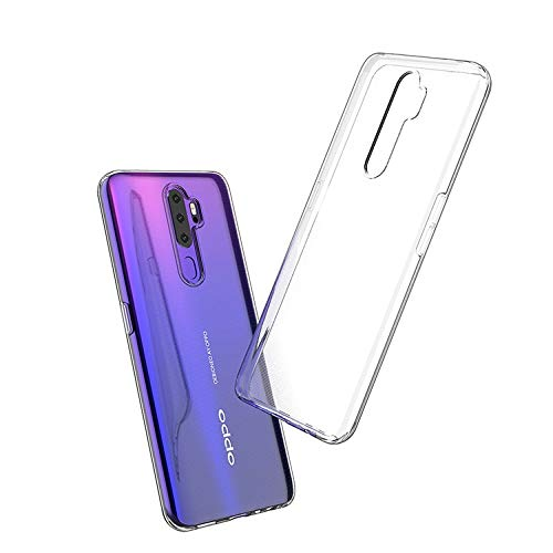 Prime Retail Back Case Cover for Oppo A5 2020 [Protective + Anti Shockproof CASE], Oppo A5 2020 Back Cover Case -Prime Retail Transparent Case 4