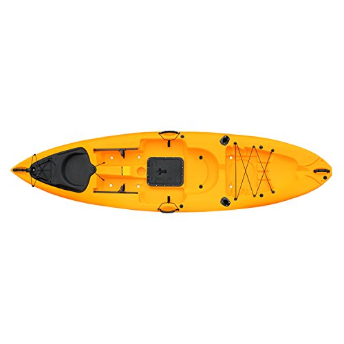 Malibu Kayaks Trio-11 Fish and Dive Package Sit on Top Kayak, Mango, 11' x 4""