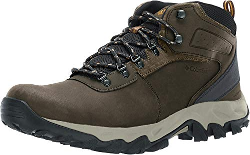 Columbia Men's Newton Ridge Plus II Waterproof Hiking Boot, Cordovan,...