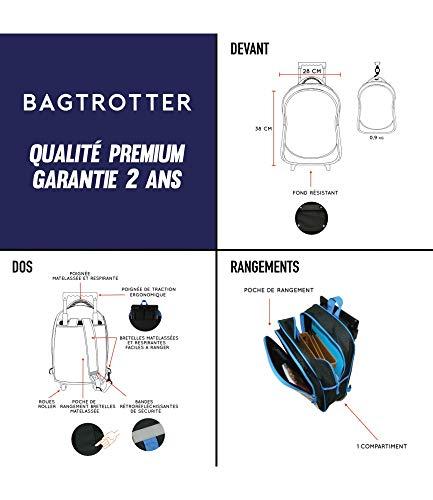 Bagtrotter-Cartable-a-Roulettes-Scolaire-Avengers-Bleu
