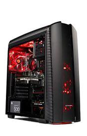 SkyTech DarkAngel Gaming Computer Desktop PC - Ryzen 5 2600 3.4GHz 6-Core (3.9 Ghz Turbo), RX 580 4GB, 8GB DDR4 2400, 1TB HDD, VR Ready, Wi-Fi USB, Windows 10 Home 64-bit