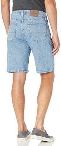 Wrangler Men's Classic Relaxed Fit Five Pocket Jean Short 2