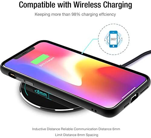 TOZO W1 Wireless Charger Thin Aviation Aluminum Computer Numerical Control Technology Fast Charging Pad Black (NO AC Adapter) 14