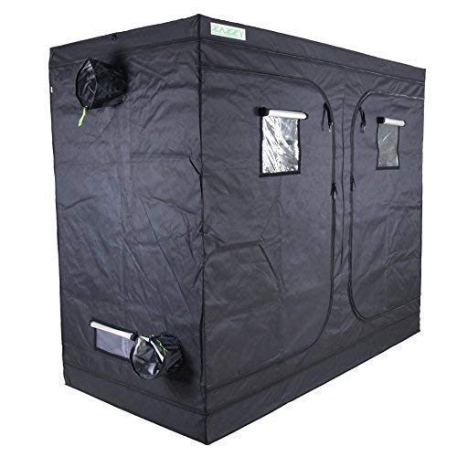 Zazzy 96'X48 X78 Plant Growing Tents 600D Mylar Hydroponic Indoor Grow Tent for Plant Growing
