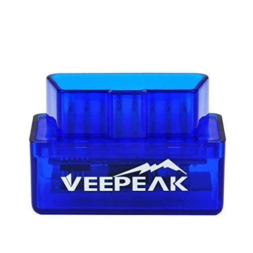 Veepeak Mini Bluetooth OBD2 Scanner OBD II Car Diagnostic Scan Tool for Android & Windows, Check Engine Light Code Reader, Supports Torque Pro/Lite, OBD Fusion, DashCommand, Car Scanner App