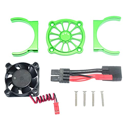 Motor Cooling Fan for 1/10 TRAXXAS E REVO 2.0 RC Car Part Multi-Color