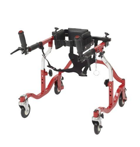 Wenzelite Luminator Gait Trainer with Posterior or Anterior Option, Red, Tyke