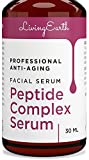 Peptide Serum Complex - Organic & All Natural - Best Anti-Aging Face Serum - Boosts Collagen, Reduce Wrinkles, Repairs Damaged Skin - Made in USA
