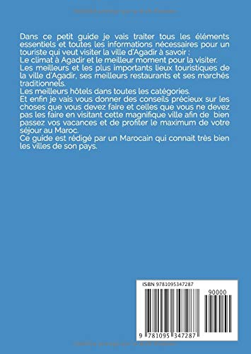 GUIDE DE VOYAGE À AGADIR (De Poche): Guide de Voyage Au Maroc : Agadir