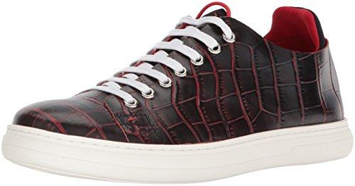 41w5pS7X09L Contrasting croco print upper Lycra sock Rubber sole