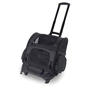 Gen7Pets Geometric Roller-Carrier Backpack