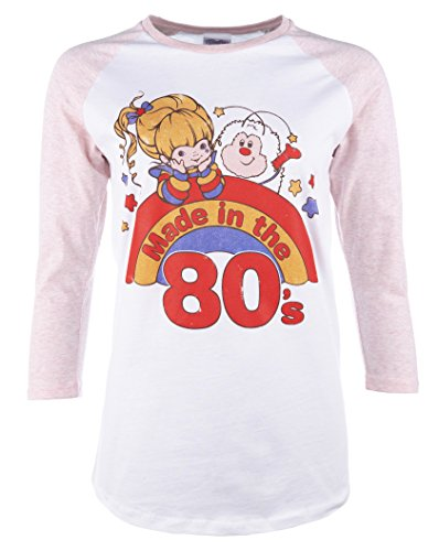 1e1fa17577d Rainbow Brite  Women s Made in The 80 s Baseball T-Shirt