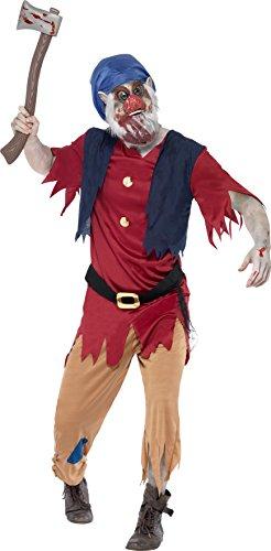 Smiffys Men's Zombie Dwarf Costume