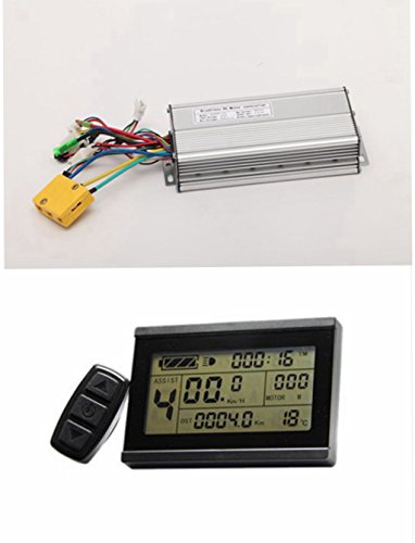 48V 800-1500W 35Amax Brushless DC Motor Controller Ebike Controller +KT-LCD3 Display One Set