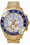 Men's 18K Gold Rolex Yachtmaster II Model # 116688