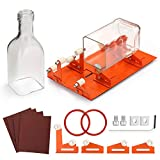 Glass Bottle Cutter, FIXM Updated Version Bottle Cutter Machine for Cutting Various Sizes & Shapes of Bottle-Round, Square, Oval Bottle & Bottle Neck, Glass Bottle Cutting Tool for DIY Creation & Gift