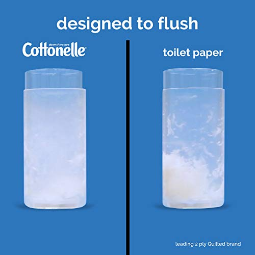 Cottonelle FreshCare Flushable Wipes for Adults, Wet Wipes, Alcohol Free, 336 Wet Wipes per Pack (Eight 42-Count Resealable Soft Packs) deal 50% off 41wNcgY 2BvzL