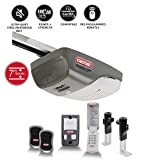 Genie 4042-TKH SilentMax 1200 Garage Door Opener–Ultra-Quiet Belt Drive System–Includes 2 3-Button Remotes, Wall Console, Wireless Keypad, Motion Detector and Safe T-Beams–Model, 3/4 + HPC 140V, Gray