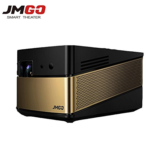 Home Theater Projector, JmGO V8 Native 1080p Projector Android Smart Projector with HIFI Speaker LiveTV Services