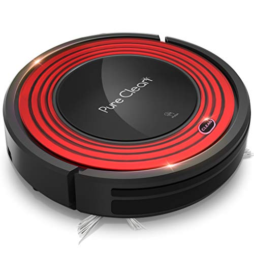 Robot-Vacuum-Cleaner-and-Dock-1500pa-Suction-w-Scheduling-Activation-and-Charging-Dock-Robotic-Auto-Home-Cleaning-for-Carpet-Hardwood-Floor-Pet-Hair-Allergies-Friendly-Pure-Clean-PUCRC95