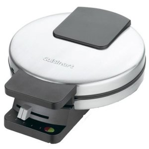 Cuisinart WMR-CA Round Classic Waffle Maker, Silver, 1 41wfg wjvGL