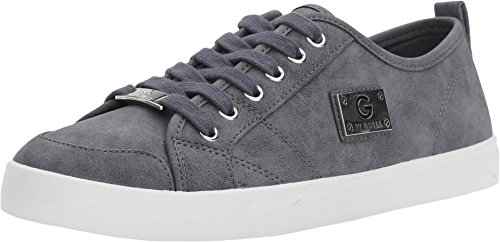 41wg3qRQrrL Navigate the urban jungle in style with these sweet sneakers. Smooth leather or suede upper with textile accents. Lace-up front.
