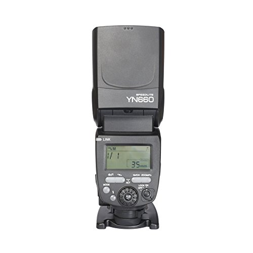 YONGNUO YN660 Wireless Flash Speedlite GN66 2.4G Wireless Radio Master+ Slave for Canon Nikon Pentax Olympus