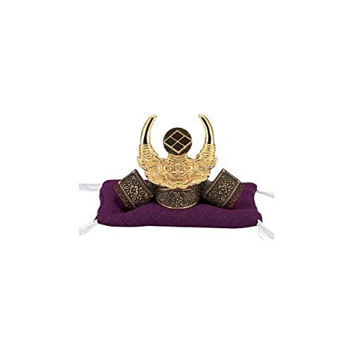 Tokyo Art Gallery ISHIHARA Japanese Samurai Kabuto Helmet - Takeda Shingen - with Cushion, Box - Japan Import [Standard Ship by EMS with Tracking Number & Insurance]
