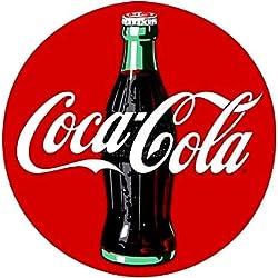 LA STICKERS Retro Coca-Cola Sticker - Sticker Graphic - Auto, Wall, Laptop, Cell, Truck Sticker for Windows, Cars, Trucks