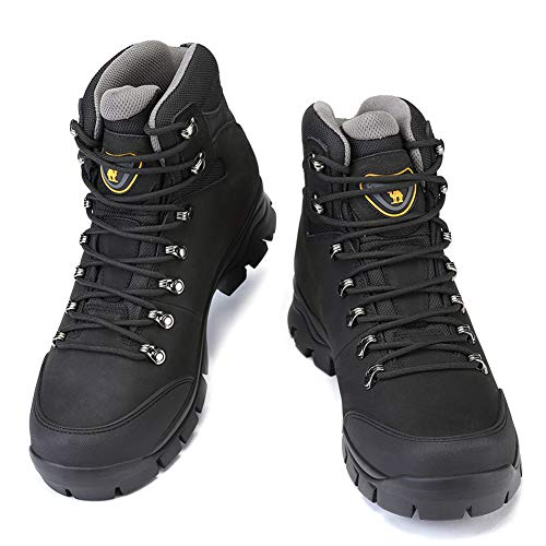 2c099dfcca6 CAMEL CROWN Mens Hiking Boots Outdoor Trekking Backpacking Boot Mid ...