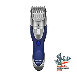 Panasonic Beard Trimmer and Mustache Trimmer for Men ER-GB40-S, Wet/Dry Cordless Hair Trimmer with 19 Adjustable Trim Settings, Washable  Image