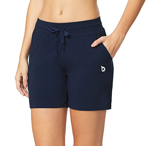 """Baleaf Women's 5"""" Activewear Yoga Lounge Shorts with Pockets 1 Fashion Online Shop Gifts for her Gifts for him womens full figure"""