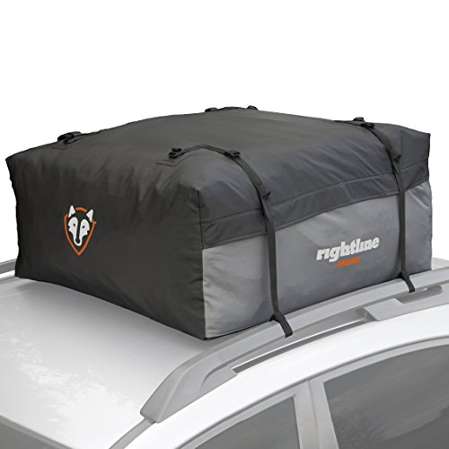 Car Top Carrier: 12 cubic feet, 100% Waterproof, works with or without vehicle roof rack.
