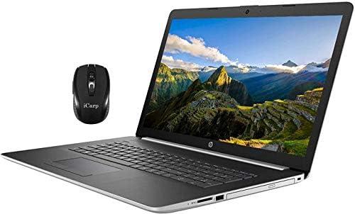 2020 Flagship HP 17 Laptop Computer 17.3″ Full HD IPS Display 10th Gen Intel Quad-Core i5-1035G1 (Beats i7-8550U) 12GB DDR4 1TB HDD DVD Backlit KB WiFi HDMI Webcam Win 10 + iCarp Wireless Mouse