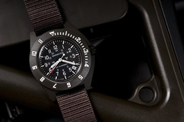 Marathon WW194013SG Swiss Made Military Issue Milspec Navigator Quartz Watch with Date and Tritium Illumination