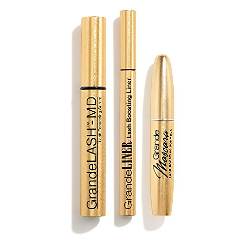 Grandelash MD Eyelash Serum - 2ml/3month supply Grandelash MD eyelash growth products improve the appearance of your eyelashes and eyebrows in LENGTH, FULLNESS, THICKNESS and DARKNESS Grande Lash Mascara Black - Unique Peptide Blend for Healthier Lashes